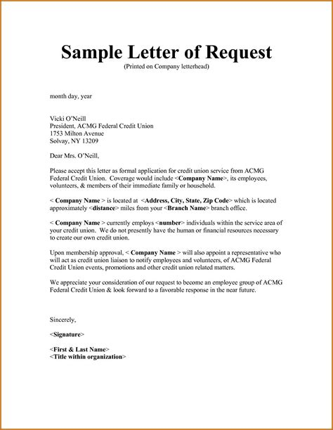 letter request approval fresh