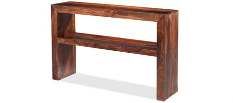 Decorating Your Hallway Cube Sheesham Console Table Quercus Living