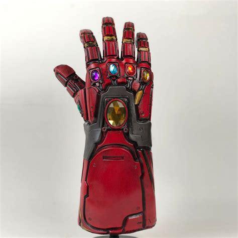 avengers endgame iron man infinity gauntlet cosplay arm