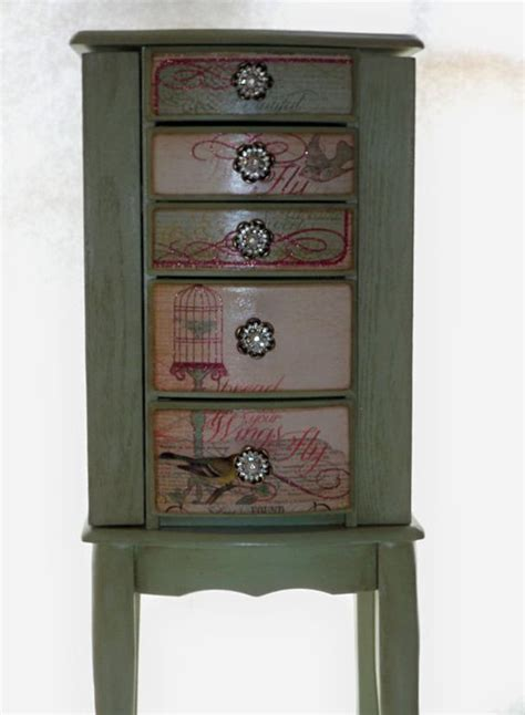 Custom Jewelry Armoire by Repurposed Jewelry Armoire Custom Made To Order