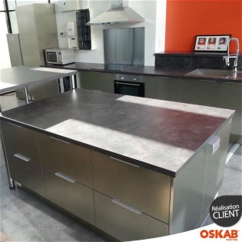 Plan De Travail Inox 31 by Cuisine Professionnelle Tout Inox Oskab