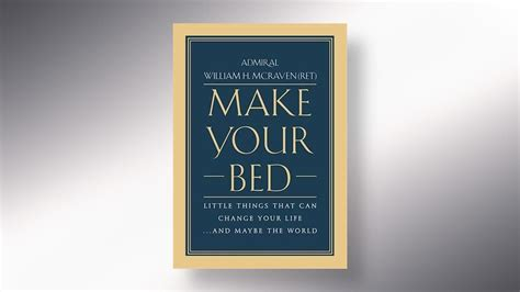 make your bed opinion journal make your bed