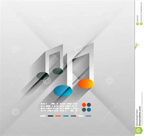 design concept paper vector music concept 3d paper design stock photos image