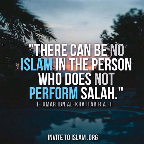 Wooden Poster Islamic Quote quot there can be no islam in the person who does not perform salah quot umar ibn al khattab