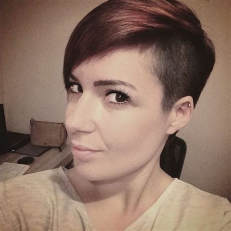 very short pixie hairstyle with saved sides 17 best images about hair color shades of blonde trendy