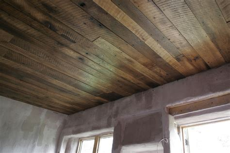Plank Boards For Ceilings A Rustic Barn Board Ceiling For The Cottage The Dacha