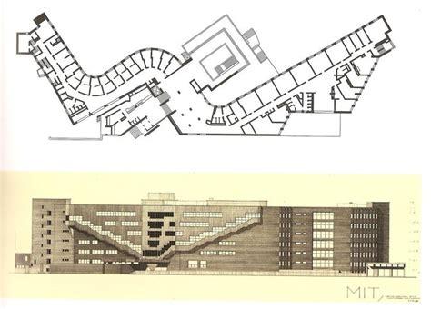 alvar aalto baker house 1947 49 plan elevation