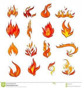 fire icon sketch stock vector image 39850799