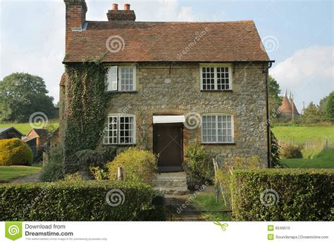 Old English Cottage House Plans Stone Cottage In Country Stock Image Image Of Homely