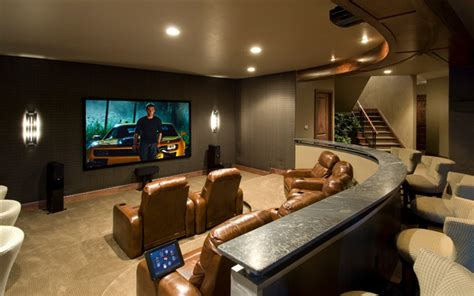 entertainment room media rooms and theaters