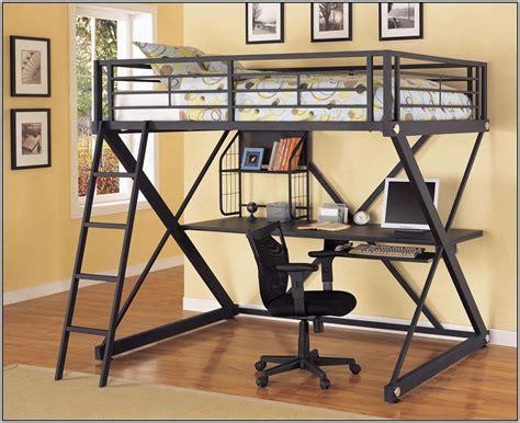 trundle bed with desk loft bunk bed with desk and trundle desk home design