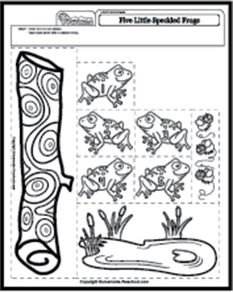5 speckled frogs coloring page five speckled frogs coloring page coloring pages