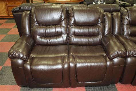 chocolate brown reclining sofa new chocolate brown leather reclining sofa and