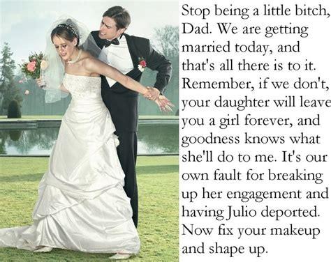 marriage caption fix your makeup tg captions brides makeup