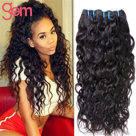 wet and wavy human hair buy 3 bundles peruvian virgin hair water wave wet and wavy