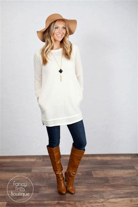 Tunic Shirtdress Or Supposed Wear Some With That by Best 25 Tunic Sweater Ideas On Sweaters