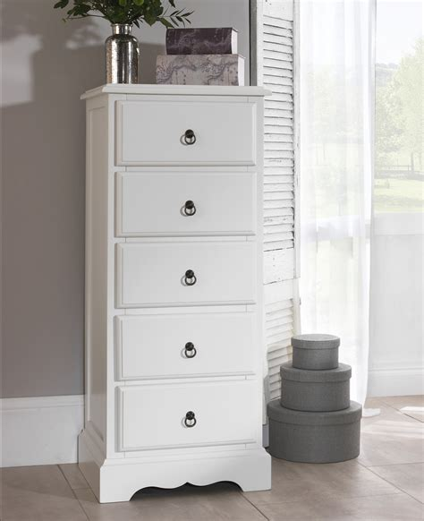 romance white bedroom furniture bedside table chest  drawers bed wardrobe ebay
