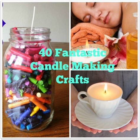 candle craft projects 40 simple candle and ideas