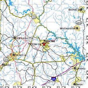map of toccoa toccoa ga population data races housing