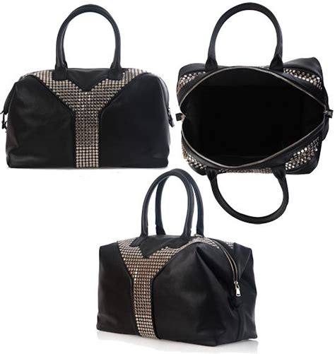 Studd Bags yves laurent studd embellished large tote yves