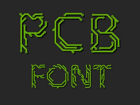 pcb design jobs noida printed circuit board font by honza kačer dribbble