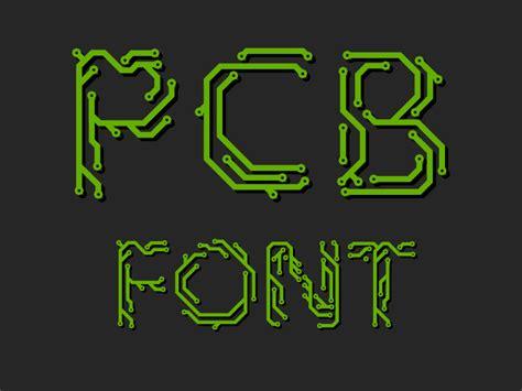 pcb design jobs freshers printed circuit board font by honza kačer dribbble