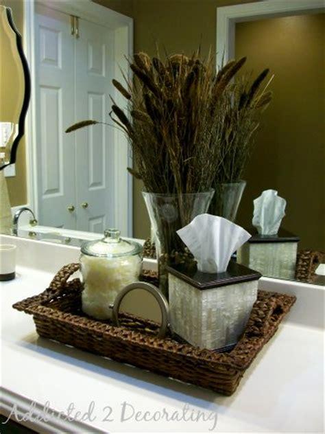 bathroom counter decorating ideas gwen s master bathroom