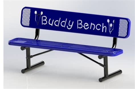 the buddy bench fundraiser by samantha manire leadership hc buddy bench