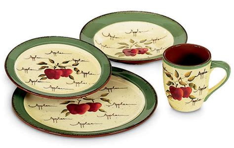 home interiors apple orchard collection tableware