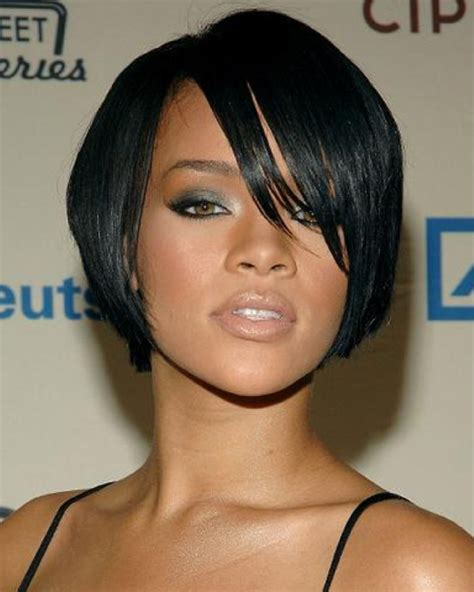 pictures of short hair styles with eight inches ten inches and 12 inches hair weave rihanna 8 inches indian remy hair lace front wig