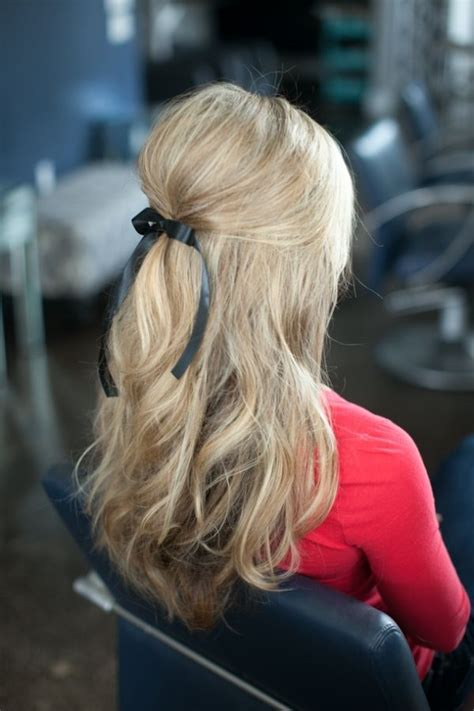 ribbon hairstyles 12 pretty hairstyles with ribbons pretty designs