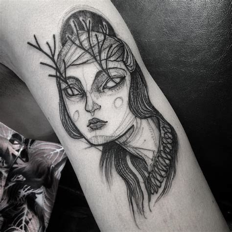 awesome pencil sketch tattoos by nomi chi qeve