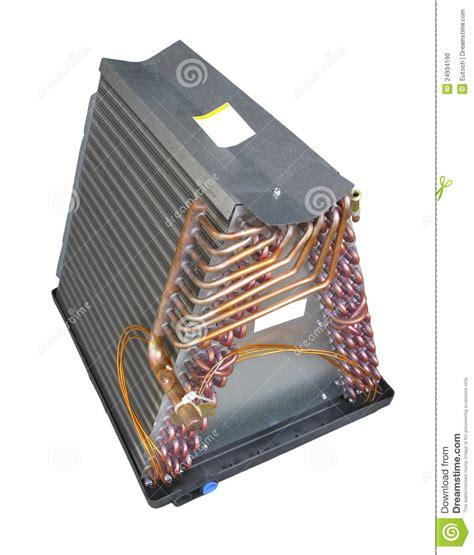 air conditioner evaporator coil air conditioner evaporator coil unit stock photo image