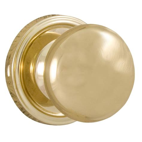 Closet Door Knobs Home Depot Weslock Traditionale Polished Brass Passage Closet Impresa Door Knob 00600i3i3sl20 The