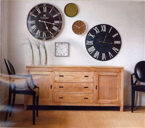 como decorar números grandes relojes decoradoras decocasa