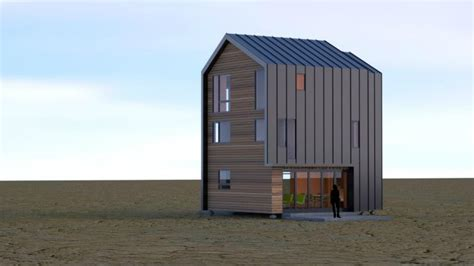 Coates Design Architects by Coates Design Architects Ecopak Prefab Container House
