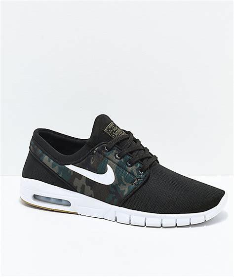 Sepatu Murah Nike Janoski Max 3 nike sb janoski air max black camo mesh skate shoes zumiez