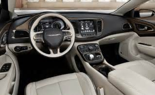 Chrysler 200 S Interior Car And Driver