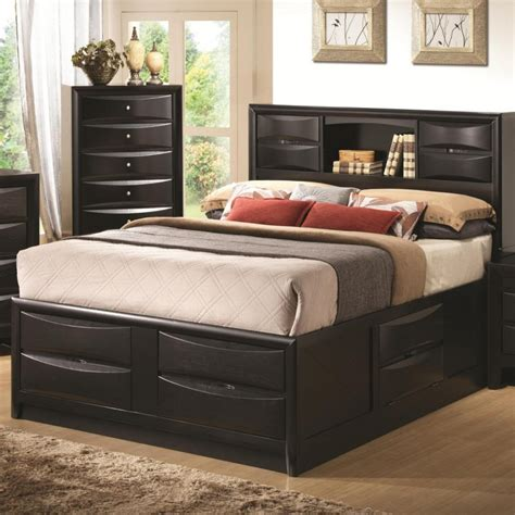 bedroom furniture with storage modern bedroom with espresso wooden furniture with wooden