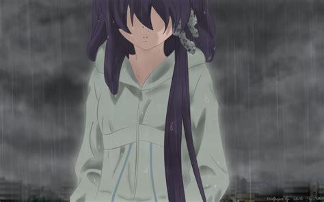 anime girl in the rain wallpaper anime girl in rain best wallpaper chainimage
