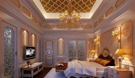 Modern Mediterranean Interior Design by Luxury Warm Bedroom Design Interior Design