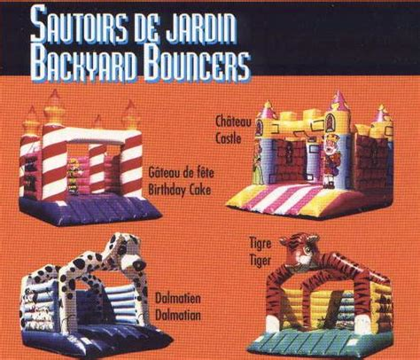 backyard bouncers backyard bouncers designs of distinction
