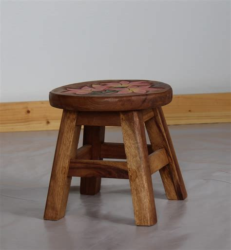 Small Wooden Stool by Small Wood Stool Child Seating Studio