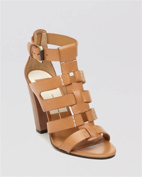 heeled sandal dolce vita open toe gladiator sandals niro high heel in