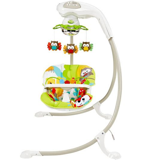 fisher price swing fisher price woodland friends cradle n swing d