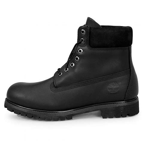 timberland 6 quot premium mens 10054 black leather waterproof
