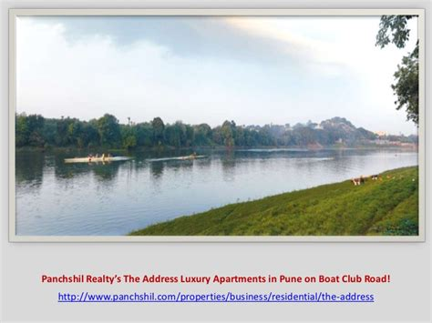 boat club address panchshil realty s the address luxury apartments in pune