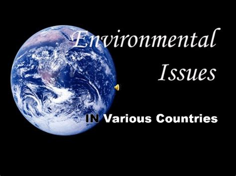 Home Design App Problems by Powerpoint On Environmental Issues