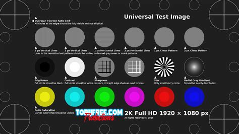 test pattern full hd universal test pattern tobyfree com records synthwave