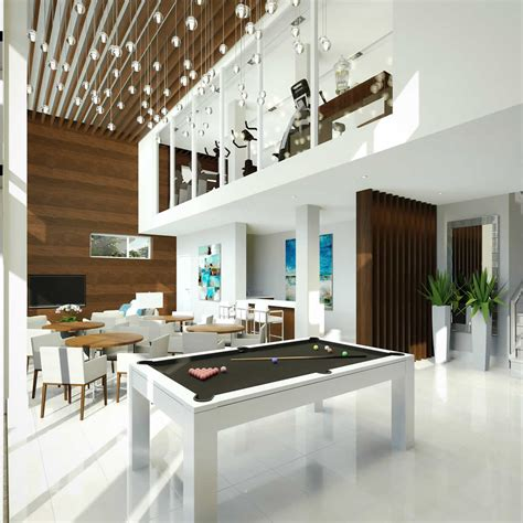 club house pool table residence gallery